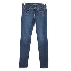 American Eagle Women's Skinny Stretch Jeans Long
